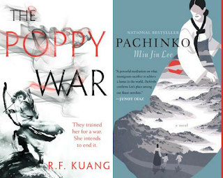 Pachinko, The Poppy War, Monthly Wrap Up, InToriLex