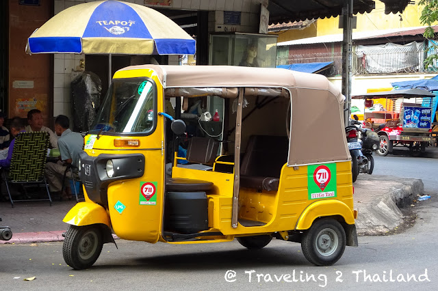 The new TukTuk's of Phnom Penh, Cambodia