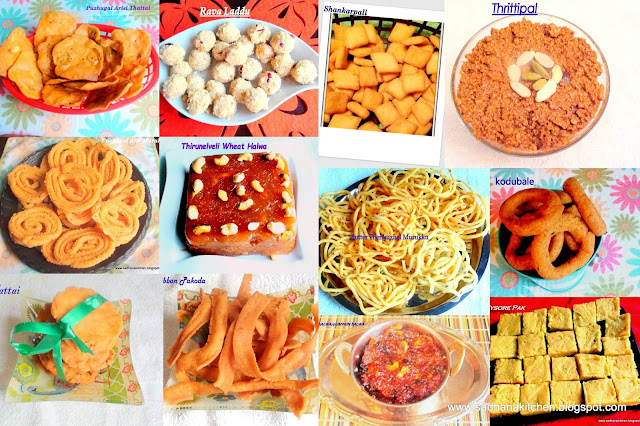 Deepavali Sweets and Savory