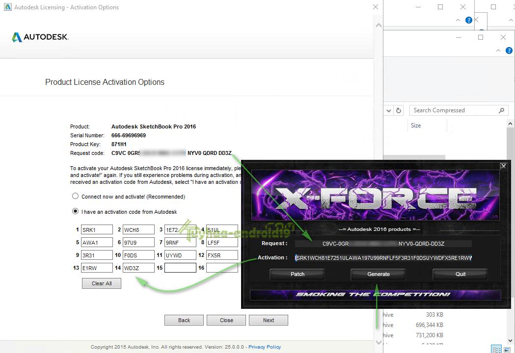 autodesk sketchbook pro product key