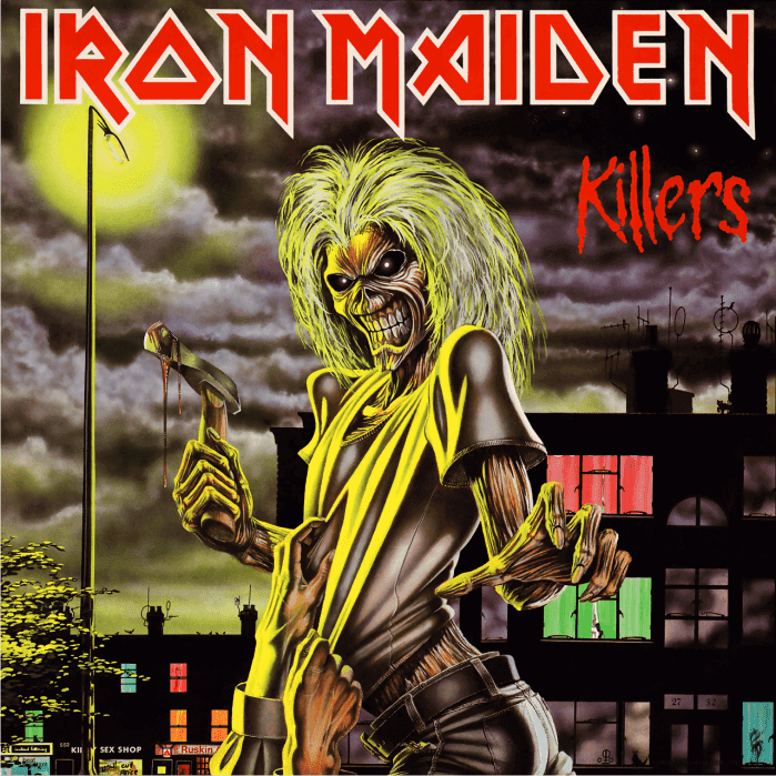 A caveira Eddie no album Killers