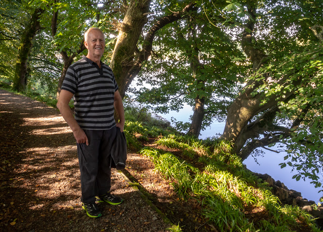 Photo of Phil on the River Dee walk