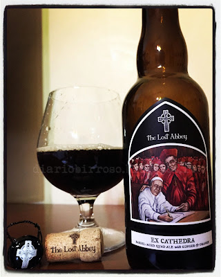 The Lost Abbey - Ex Cathedra birra recensione birra artigianale blog