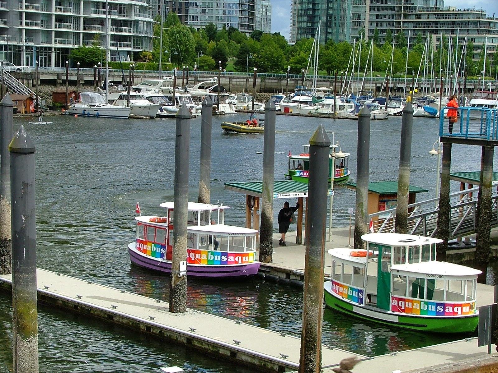 False Creek  in Vancouver BC Granville Market Landing