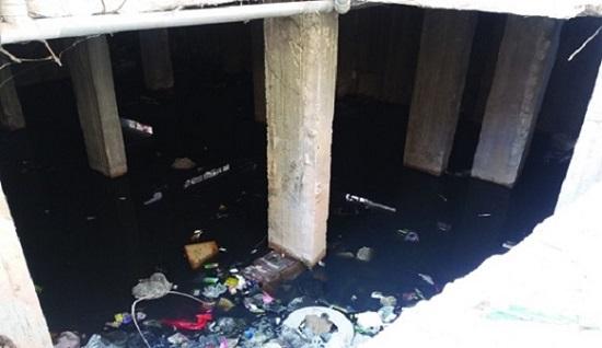 بسبب الإهمال والتقصير. الصرف الصحي يهدّد بناءين بالإنهيار في جرمانا ؟!
