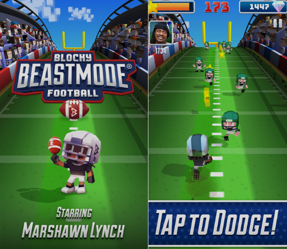 لعبة Blocky BEASTMODE® Football للاندرويد، لعبة Blocky BEASTMODE® Football للايفون