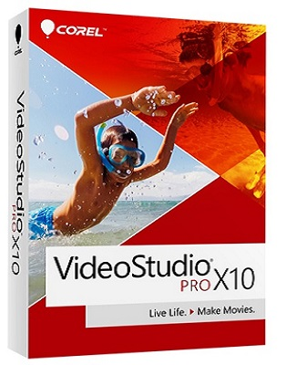 Corel VideoStudio Pro X10 v20.1.0.14 poster box cover