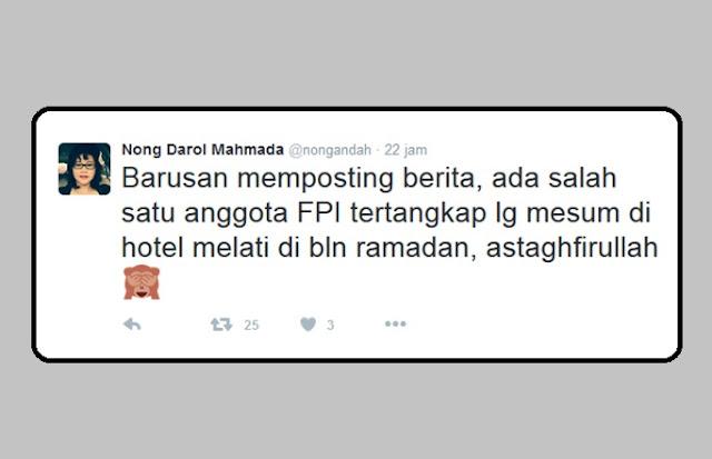 Pendiri JIL fitnah FPI