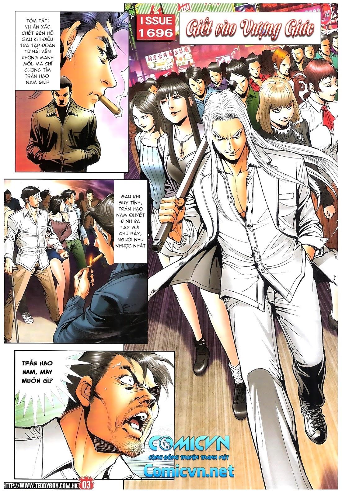 Người Trong Giang Hồ chapter 1696: giết vào vượng giác trang 2