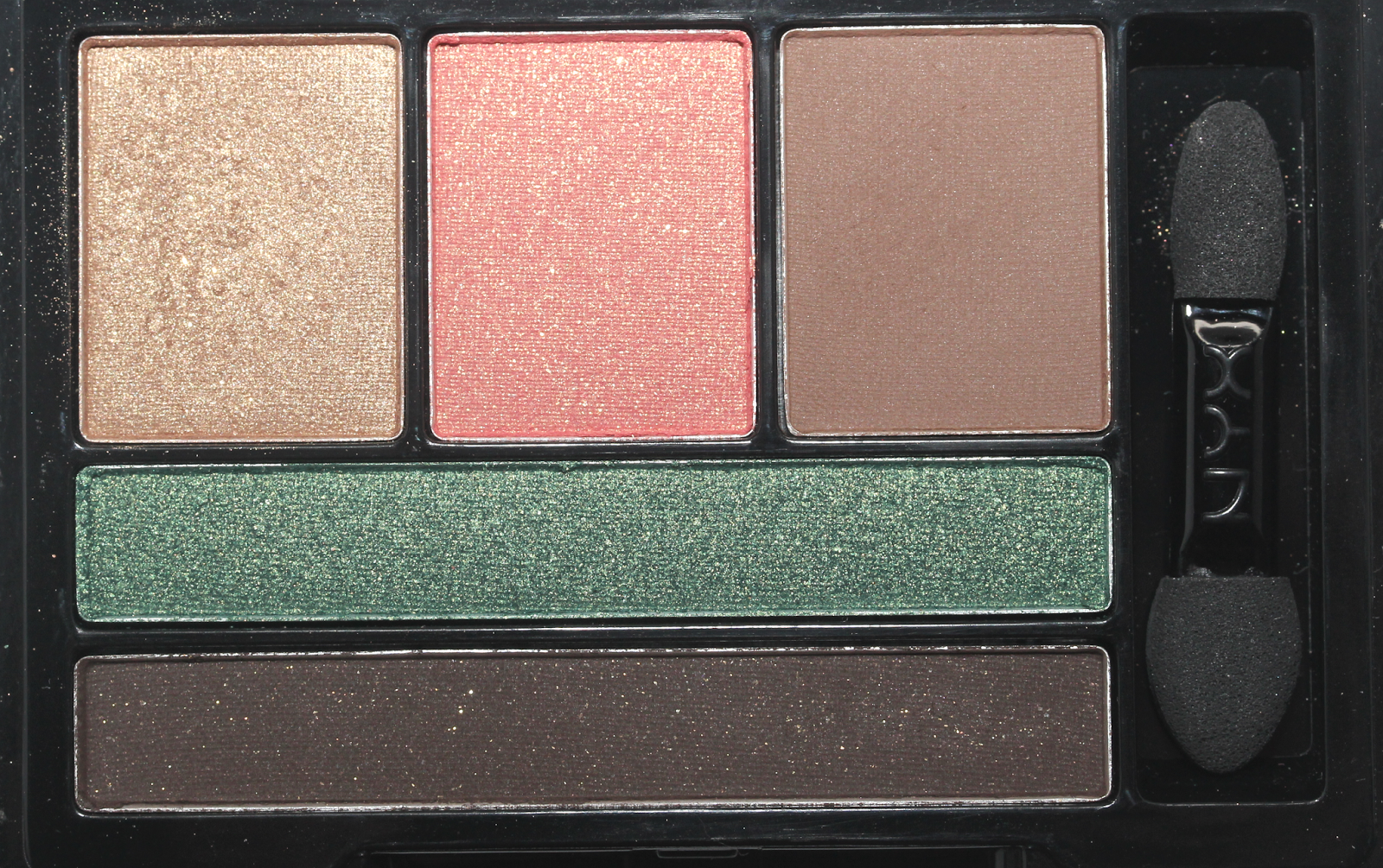 NYX COSMETICS LOVE IN FLORENCE EYESHADOW PALETTE IN EAT, LOVE, BE