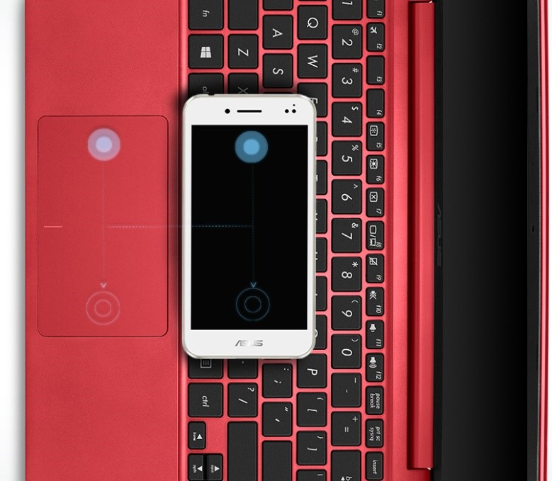 touchpad e202