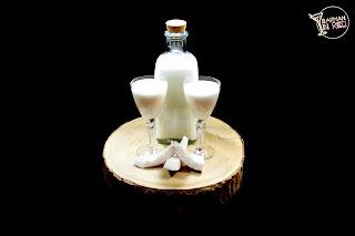 licor casero de crema de coco