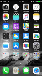 Tema iOS 11 Pro for Xiaomi Versi MIUI 9