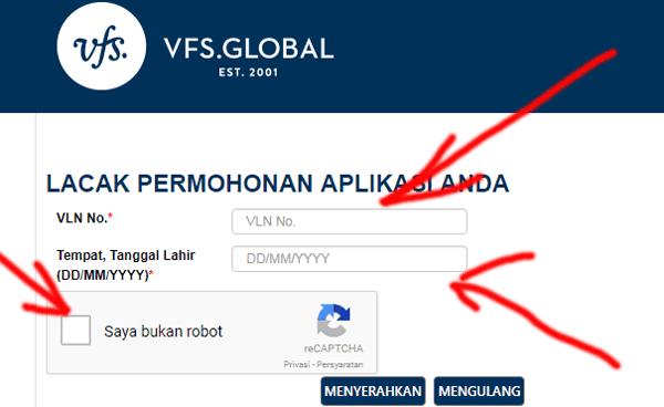 menggunakan situs vfs global