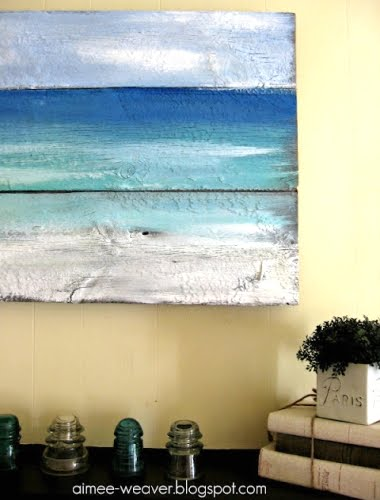 Ideas, Shops Addition, Painting Pallets, Beach Painting ...