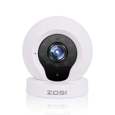 ZOSI Q2 Wireless IP Cameras, Baby Monitor and Home Security Camera,720P HD,IP Camera,P2P Network Camera, Video Monitoring,Night Vision/Motion Detection/PC iPhone Android View