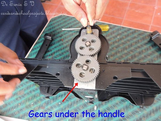 Inspect To See If Anything Is Amiss Eg Dislodged Gear Broken Falling Bearing Parts Etc