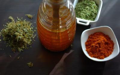 Baharatlı Zeytinyağı