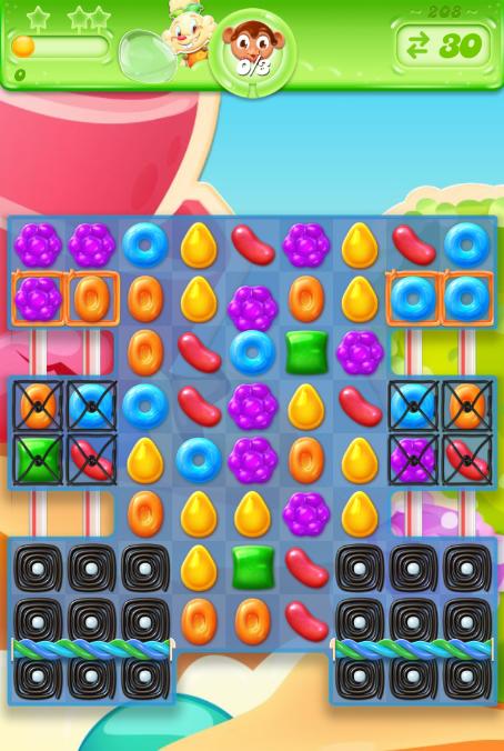 Candy Crush Jelly Saga 208