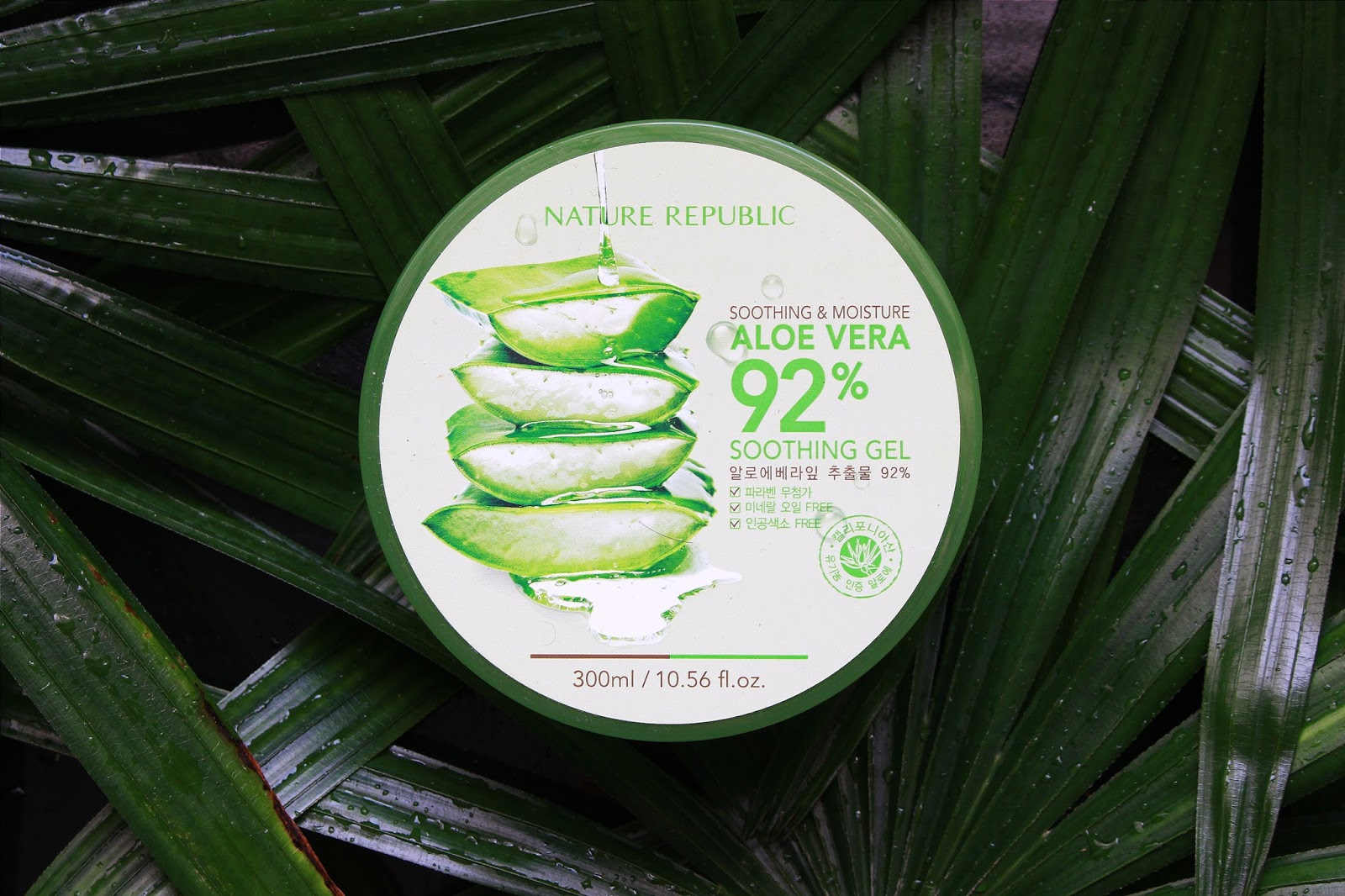 Nature Republic 92 Aloe Vera Soothing Gel Review Fishmeatdie So Today Ill Be Reviewing The Super Popular