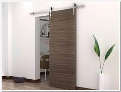 How to install barn door for bathroom