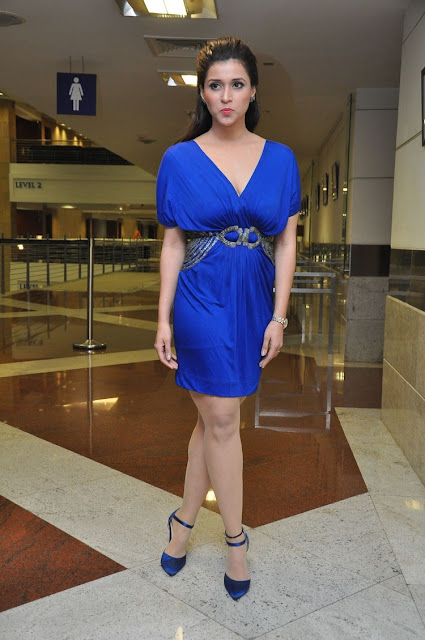 Mannara Chopra Pictures at Rogue Movie Trailer Launch