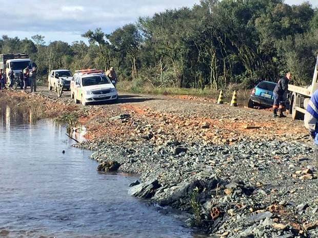 Homem morre afogado em alagado do Rio Canoinhas no interior de Monte Castelo