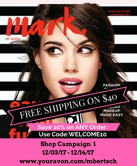 Shop Avon Mark Catalog Online - Campaign 1 2018