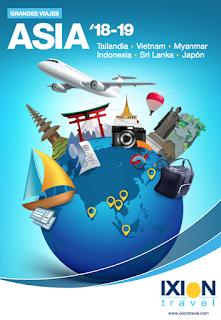 Catálogo de asia Ixion Travel