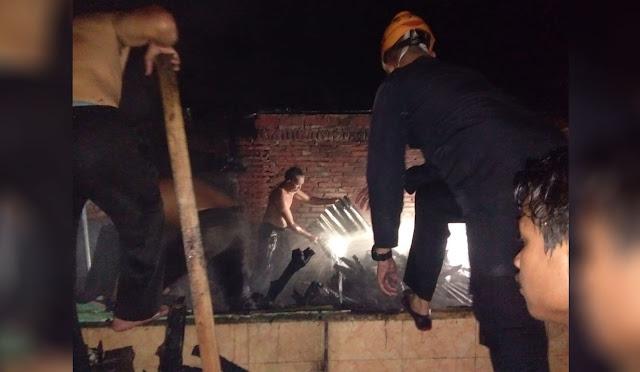Kebakaran rumah di Jogoyudan