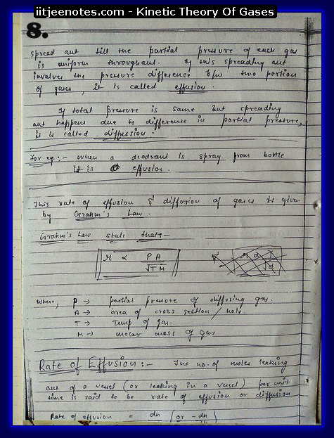 Kinetic Theory Of Gases8
