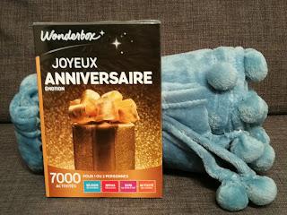 "WonderBox "" Joyeux Anniversaire """