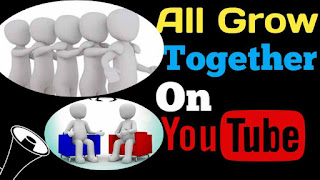 All Grow Together on YouTube By V World Promote Youtube channel Free