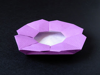Origami Piatto a fiore - Flower Dish, Francesco Guarnieri