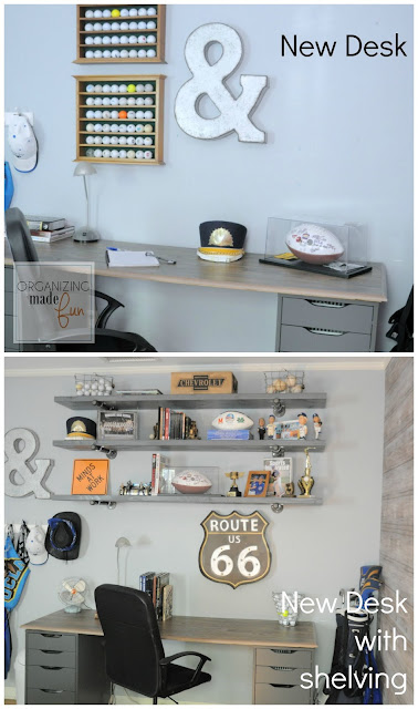 Teen Boy's room of Organizing Made Fun's home tour