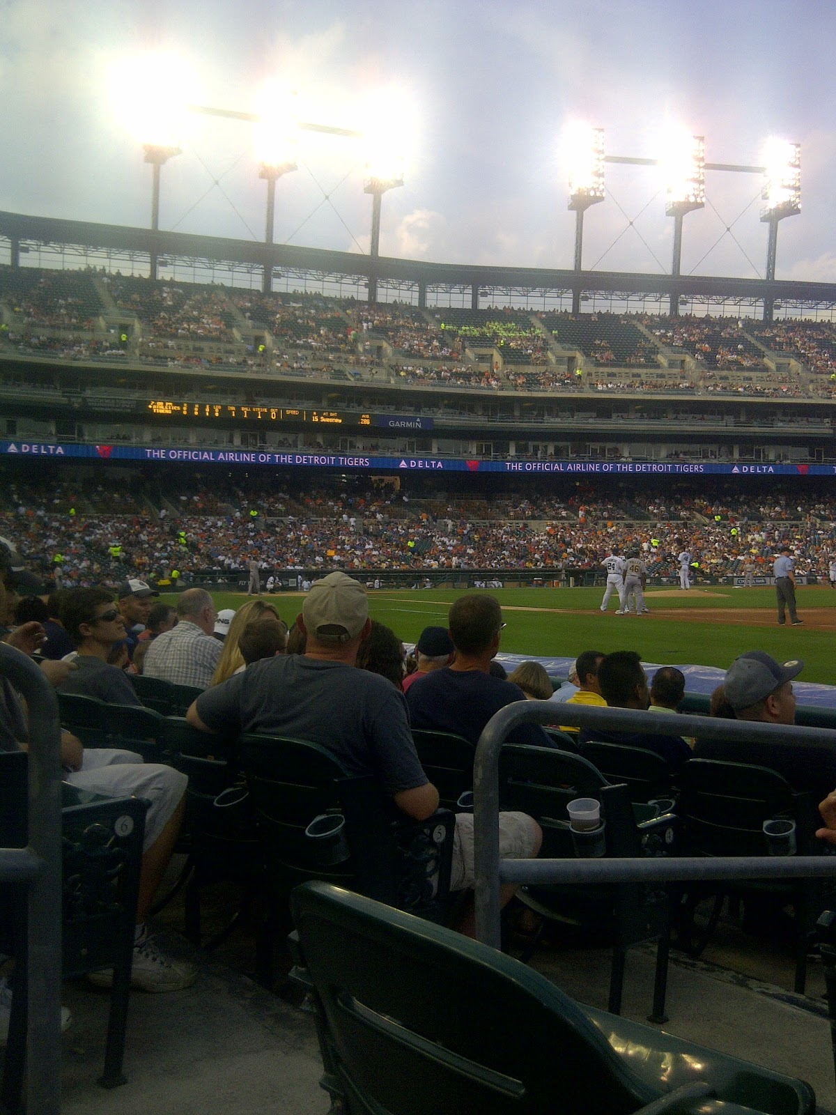 A Voice From The Seats: Summer Baseball Tour 2011 #4 and #5