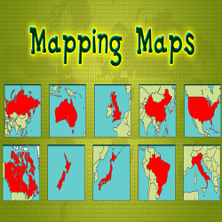 Mapping Maps (Geography Educational Game)