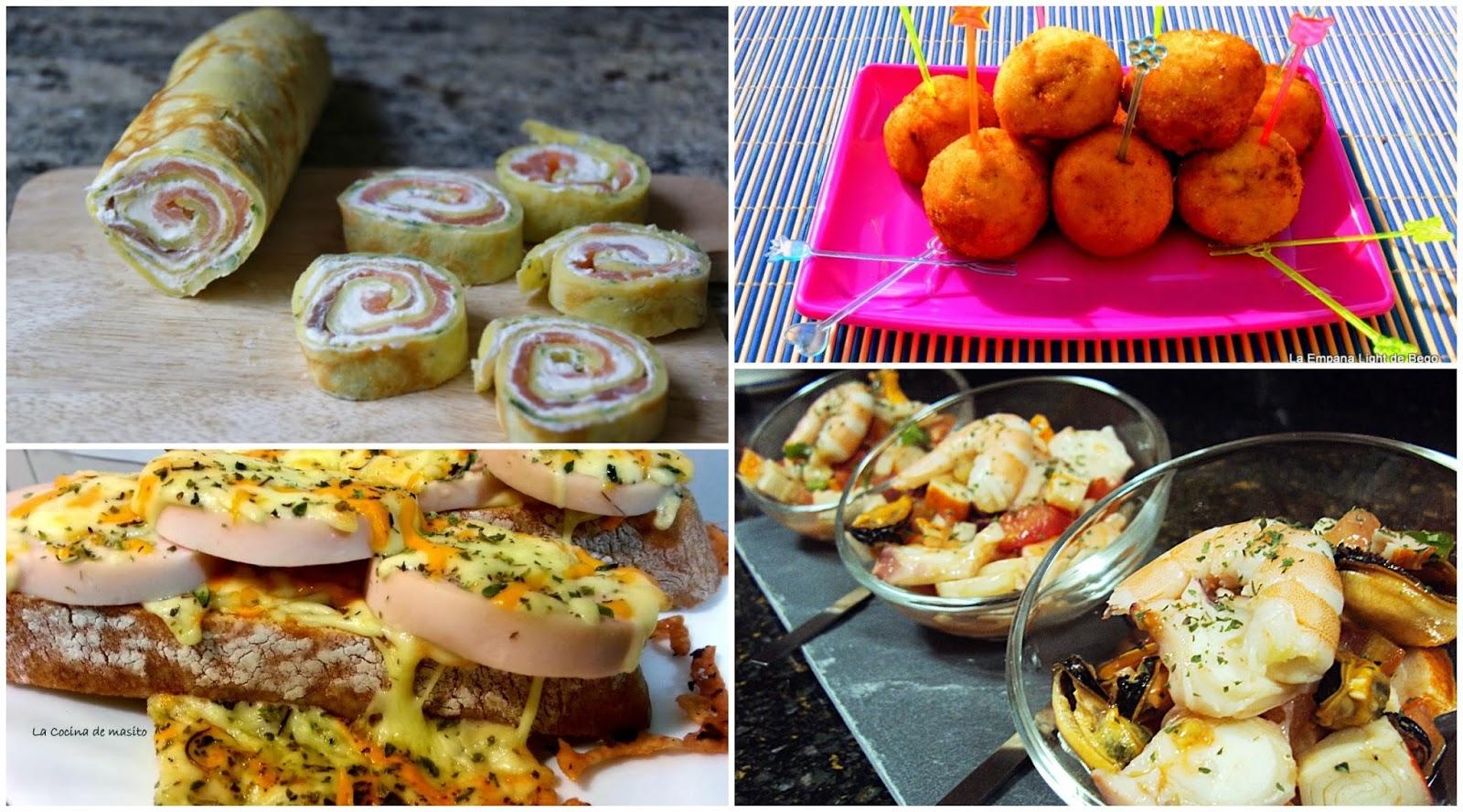 Seis recetas para cenar de picoteo la cocina de pedro y - Ideas romanticas para hacer en casa ...