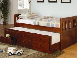Tempat Tidur Minimalis Anak box sorong