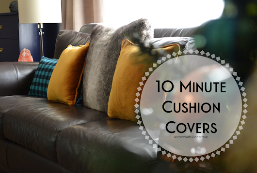 Cushion Covers in 15 Minutes