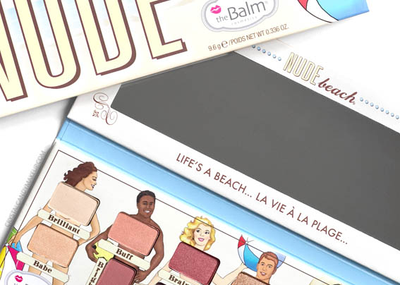TheBalm Nude Beach Eyeshadow Palette Vol. 3