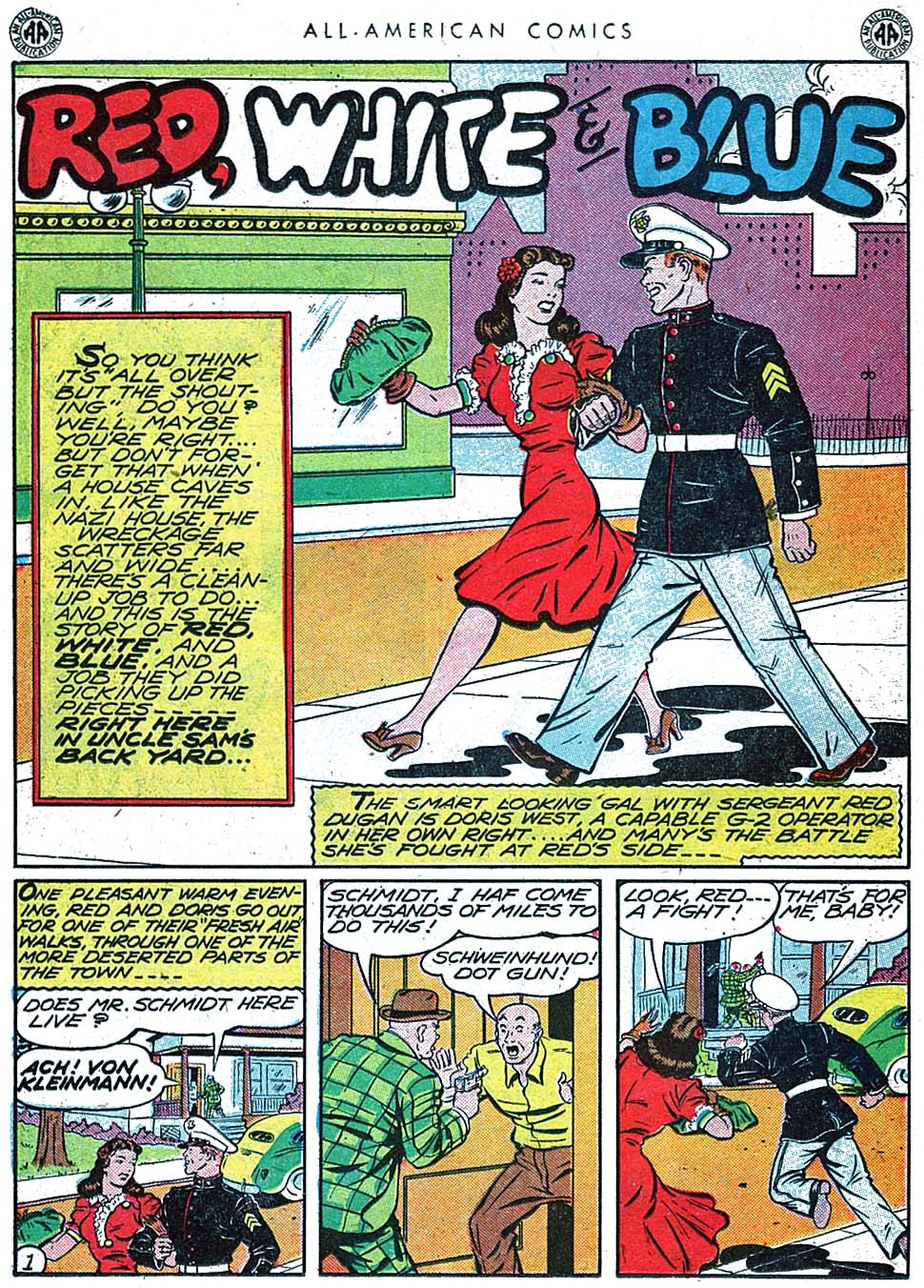 Read online All-American Comics (1939) comic -  Issue #66 - 31