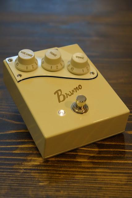 Bruno オーバードライブ TS系 オリジナル筐体