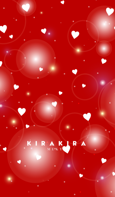 K I R A K I R A -VALENTINE RED-
