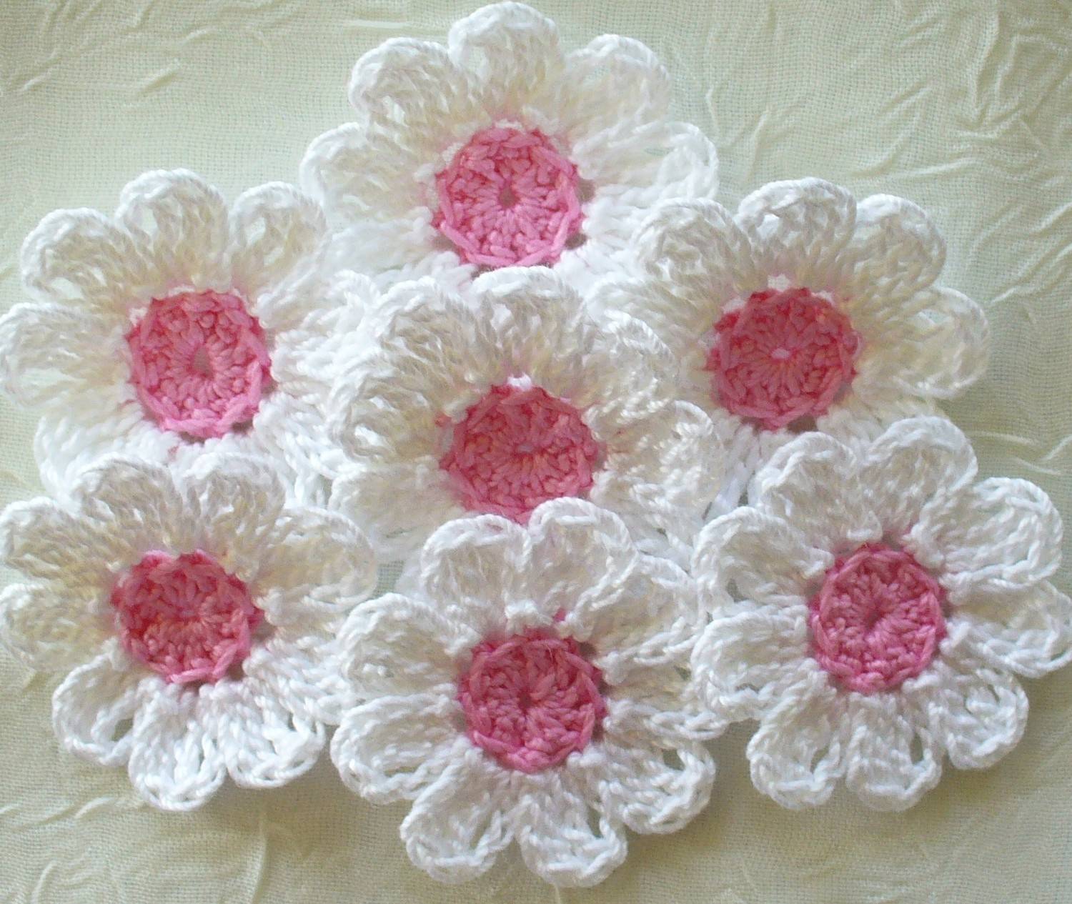 Crochet Flowers Free Patterns Interesting Decorating Design