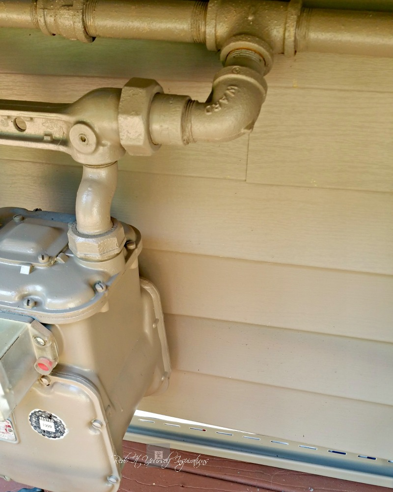 Can You Paint Gas Meter Box