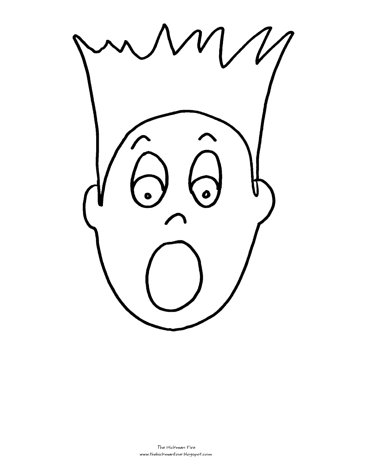Coloring Pages Emotions - Eskayalitim