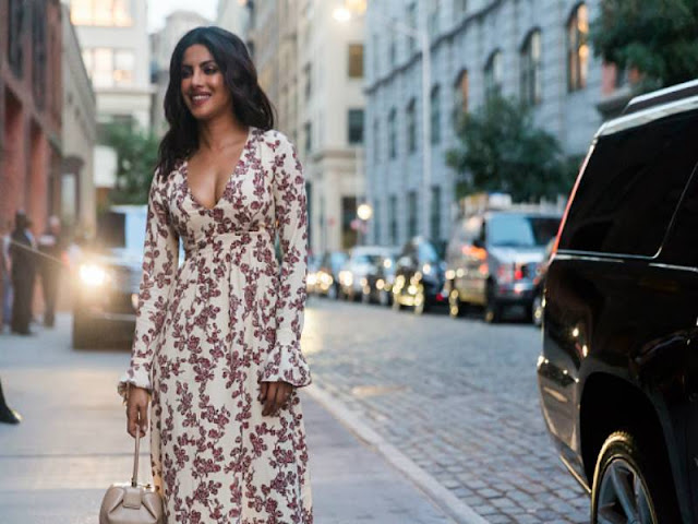 Priyanka Chopra Stills At New York Fashion Week