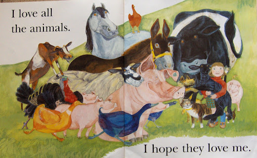I Love Animals Big Book