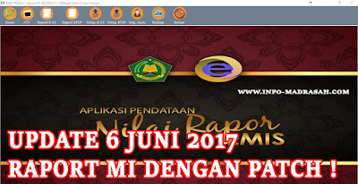 Download Aplikasi Nilai Raport EMIS dan Pacth Tingakat MI Update Terbaru